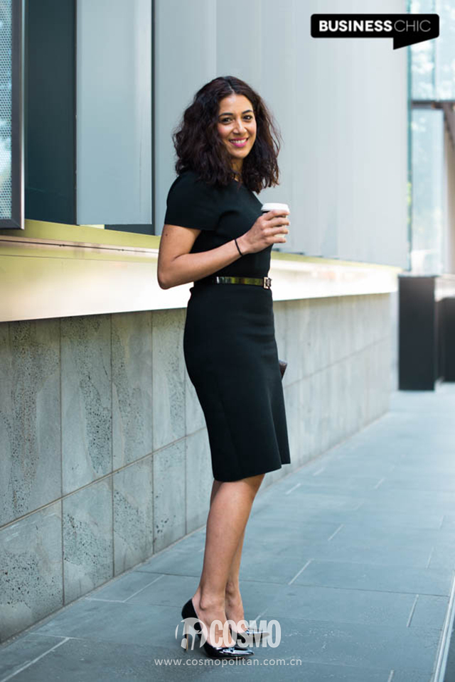 Modern-Corporate-in-a-little-black-dress-and-pumps