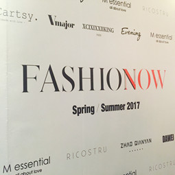 FASHION NOW 2017SS,RICOSTRU邂逅Evening!