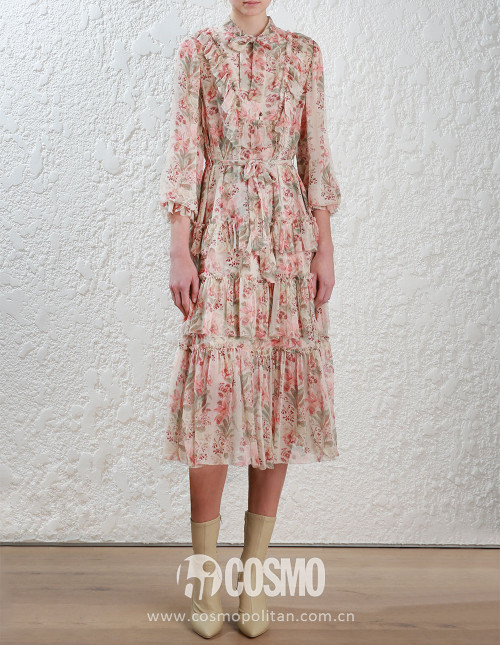 Floral-Folly-Neck-Tie-Dress-front
