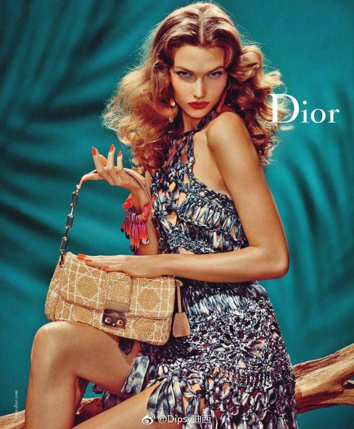 Karlie Kloss x Dior S/S 2011 Ad Campaign