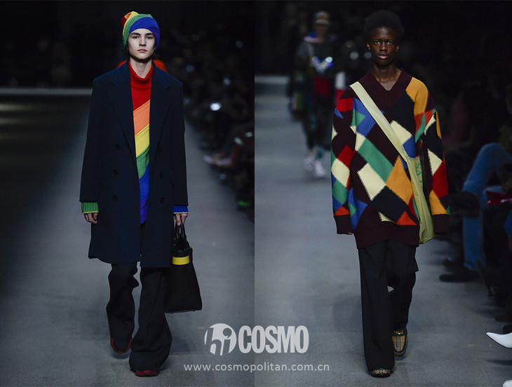 Burberry colorful