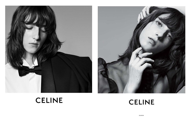 CELINE BY HEDI SLIMANE INTRODUCTION CAMPAIGN 2018