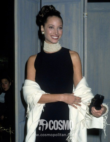 "Christy Turlington, 1992, ""Fashion and History- A Dialogue"""