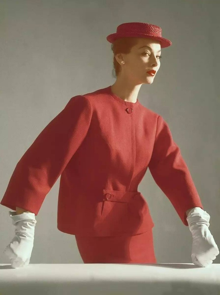Cristobal Balenciaga, Suit,photographed by Horst P. Horst, ca. 1952