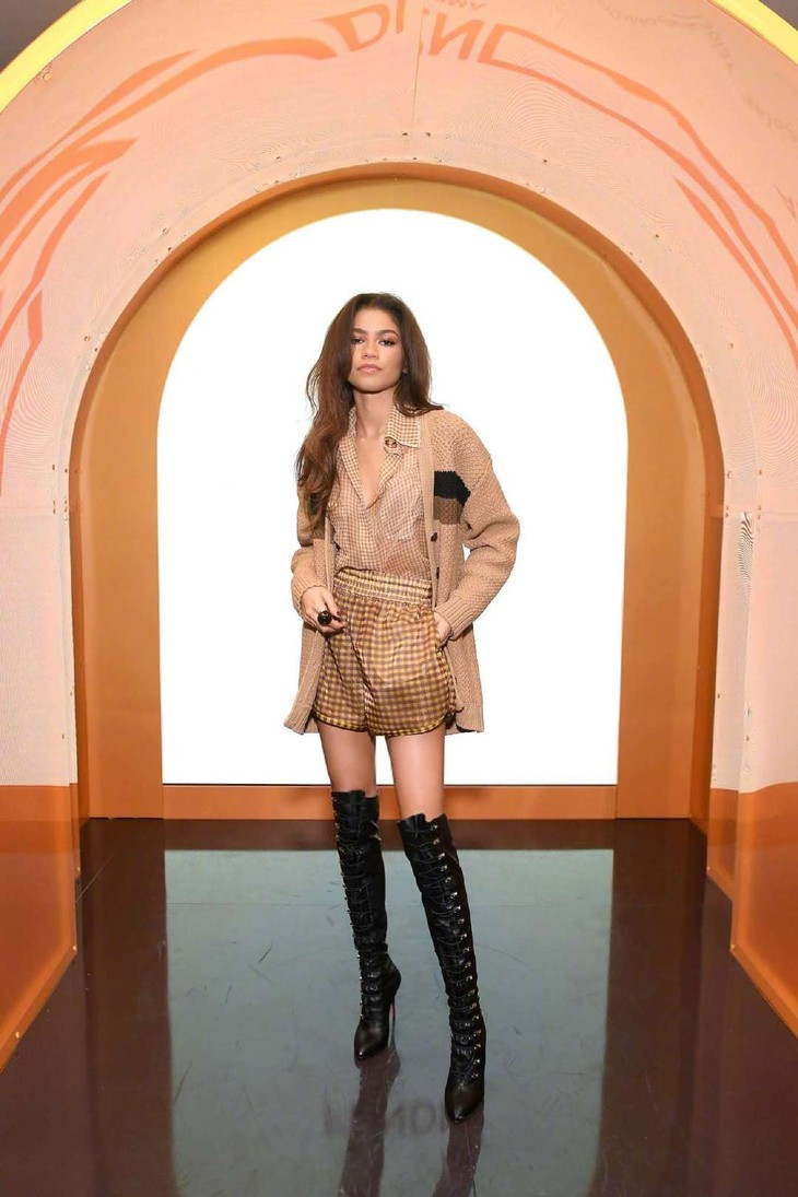 Fendi Solar Dream Launch Event 的 Zendaya