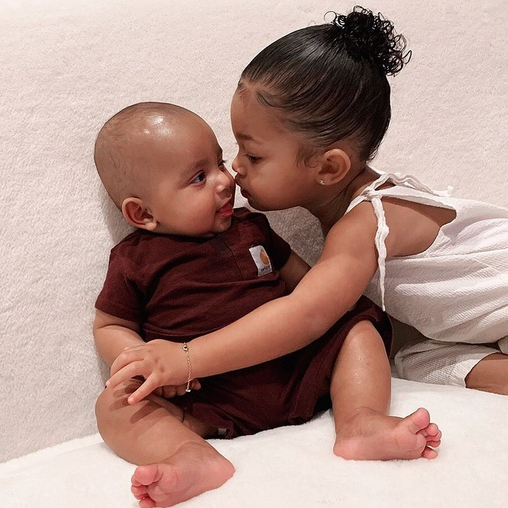 My sweet Stormi and Psalm