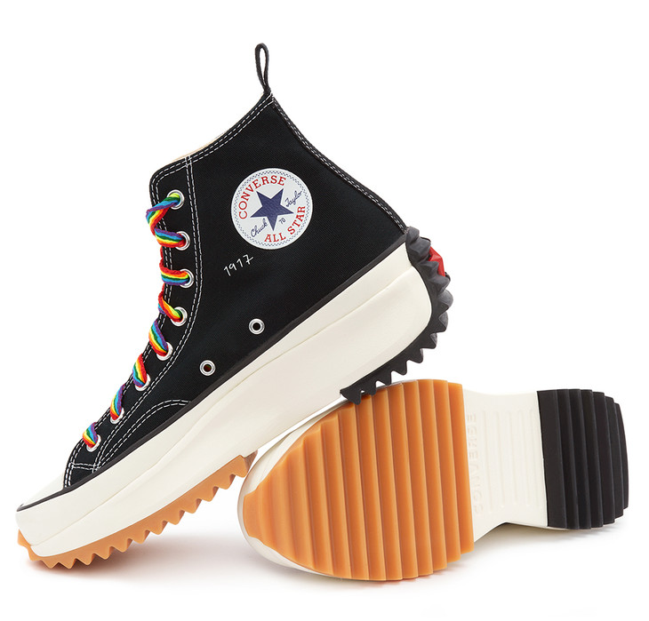 北京SKP限定款JW Anderson x Converse「Run Star Hike」运动鞋